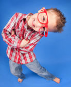 Five years old boy — Stock Photo