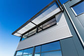 Facade of an new industrial office building — Stock Photo