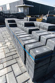Pile of pavement bricks — Stock Photo