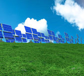 Environmentally clean source of energy. — Stock Photo