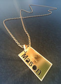 Badge for Mason — Stock Photo