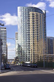 Modern buildings, Portland Oregon. — Stock Photo