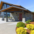 Royalty-Free Stock Photo: Mt Hood winery wine tasting building.