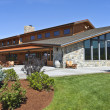 Mt Hood winery wine tasting building. — Stock Photo #24847565