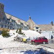 Stock Photo: Timberline lodge Mt. Hood Oregon.