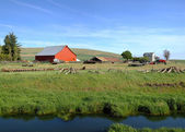 The country farm Eastern Washington state. — Stock Photo