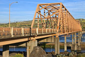 The bridge of the Dalles Oregon. — Stock Photo