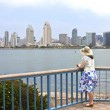 Visiting San Diego california. — Stock Photo