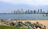 San Diego skyline California. — Stock Photo