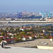 Port of Long Beach Californiindustrial facility. — Stock Photo #26593311