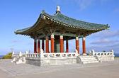 Korean friendship bell park San Pedro California. — Stock Photo