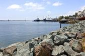 Wijs loma san diego visserij schepen californië. — Stockfoto