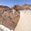 Hoover Dam visitor center Nevada panorama. — Stock Photo