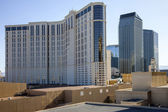 Las Vegas Casino architecture and rooftops. — Stock Photo