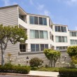 Condominiums in Point Loma San Diego california. — Stock Photo