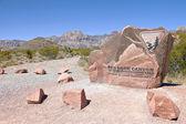 Besöka röda rock canyon nevada. — Stockfoto