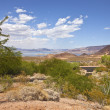 A view of Lake Meade and surrounding landscape Nevada. — Stock Photo #28692947