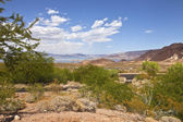 A view of Lake Meade and surrounding landscape Nevada. — Stock Photo