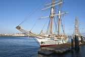 Galleons in San Pedro California. — Stock Photo