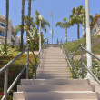 Tall staircase in Long Beach california. — Stock Photo #29080827