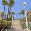 Tall staircase in Long Beach california. — Stock Photo #29080829