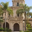 Spanish architecture balboa park California. — Stock Photo
