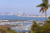 View of San Diego California from Point Loma. — Stock Photo
