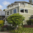 Stock Photo: Residential homes in Seattle WA.
