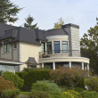 Stock Photo: Large mansion Seattle WA.