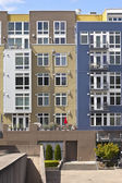 Modern condominiums in Tacoma Washington. — Stock Photo