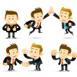 Elegant Series - Businessman,cooperation set - Stock Photo
