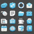 Business , internet,office,work icon set — Stock Vector #40866851