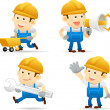 Builder set — Stock Vector #40867291