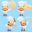Chef character set — Stock Vector #40867527