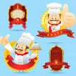 Chef character set — Stock Vector #40867539
