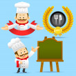Chef character set — Stock Vector #40867565