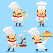 Chef character set — Stock Vector #40867577