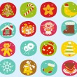 Holiday icon set — Stock Vector #40867697