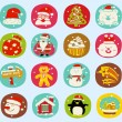 Holiday icon set — Stock Vector #40867699