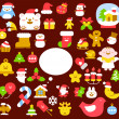 Christmas collection — Stock Vector #40867735