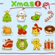 Christmas icons — Stock Vector #40867837