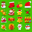 Xmas icon set — Stock Vector #40867847