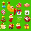 Christmas icon set — Stock Vector #40867853