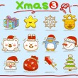 Christmas icons — Stock Vector #40867863