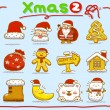 Christmas icons — Stock Vector #40867865