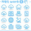Network,Business,Internet icon set — Stock Vector #40867903