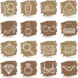 Fashion,Beauty,women accessory icon set — Stock Vector #40868229