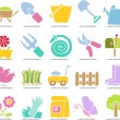 Stock Vector: Garden icon set