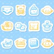 Baby icons — Stock Vector #40868643