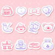 Baby icons — Stock Vector #40868653